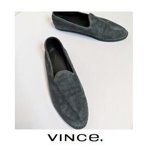 Vince | Suede smoking slippers